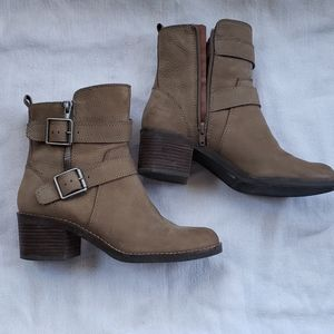 Lucky Brand buckled boot
